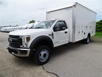 2019 F-550 Regular Cab DRW 4x2,  Dejana DuraBox Max Dry Freight #CR5841 - photo 3