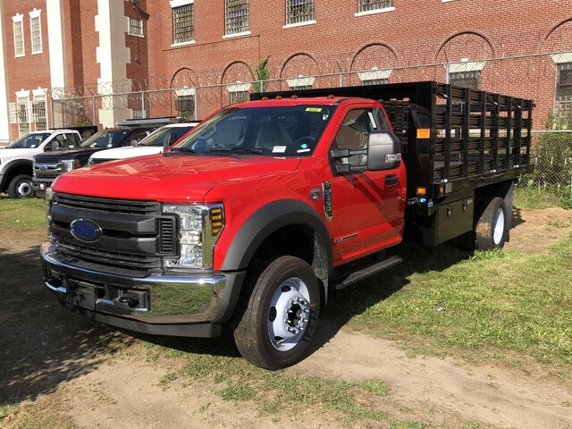 2019 F-550 Regular Cab DRW 4x2, Knapheide Value-Master X Stake Bed #CR5963 - photo 3