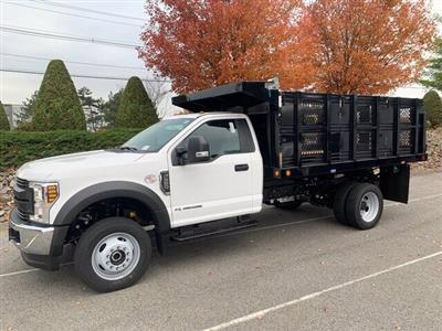 2019 Ford F-550 Regular Cab DRW 4x4, Rugby Eliminator LP Steel Dump Body #CR6154 - photo 1