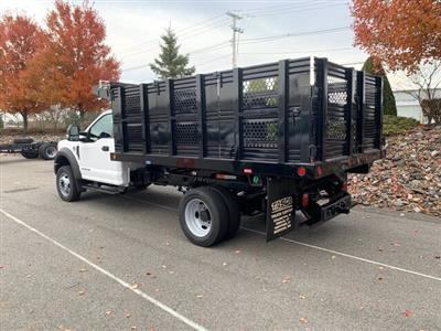 2019 F-550 Regular Cab DRW 4x4, Rugby Eliminator LP Steel Dump Body #CR6154 - photo 2
