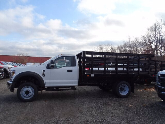 2019 F-550 Regular Cab DRW 4x2, Knapheide Stake Bed #CR6228 - photo 1