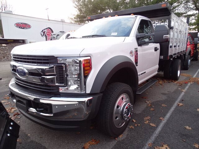 2019 F-550 Regular Cab DRW 4x4, SH Truck Bodies Stake Bed #CR6290 - photo 1