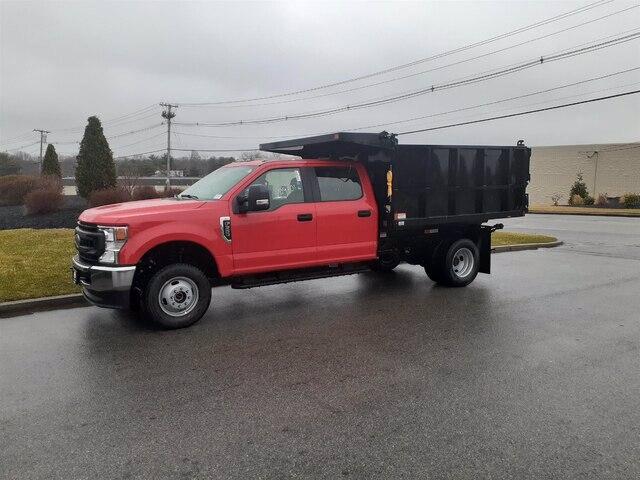 2020 F-350 Crew Cab DRW 4x4, SH Truck Bodies Landscape Dump #CR6410 - photo 3