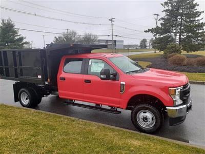 2020 F-350 Crew Cab DRW 4x4, SH Truck Bodies Landscape Dump #CR6410 - photo 1