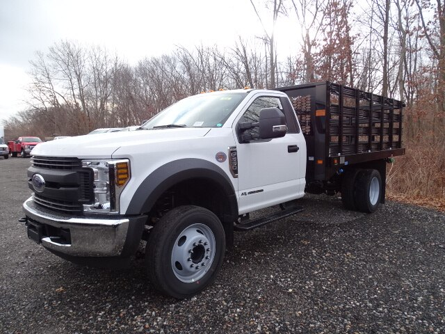 2019 F-550 Regular Cab DRW 4x2, Knapheide Stake Bed #CR6505 - photo 1