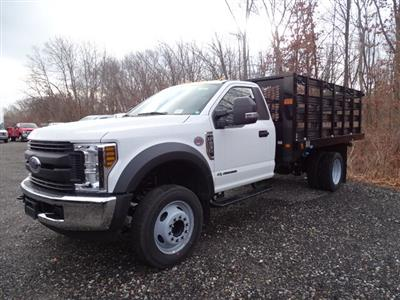 2019 F-550 Regular Cab DRW 4x2, Knapheide Value-Master X Stake Bed #CR6505 - photo 2