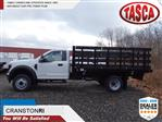 2019 F-550 Regular Cab DRW 4x2, Knapheide Value-Master X Stake Bed #CR6505 - photo 1