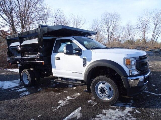2020 Ford F-550 Regular Cab DRW 4x4, Rugby Landscape Dump #CR6737 - photo 3