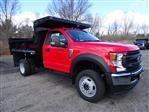 2020 Ford F-550 Regular Cab DRW 4x4, Dump Body #CR6927 - photo 3