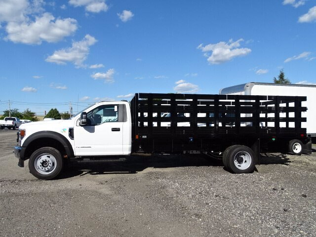 2020 Ford F-550 Regular Cab DRW 4x4, Work Ready Truck LLC Platform Body #CR6937 - photo 1