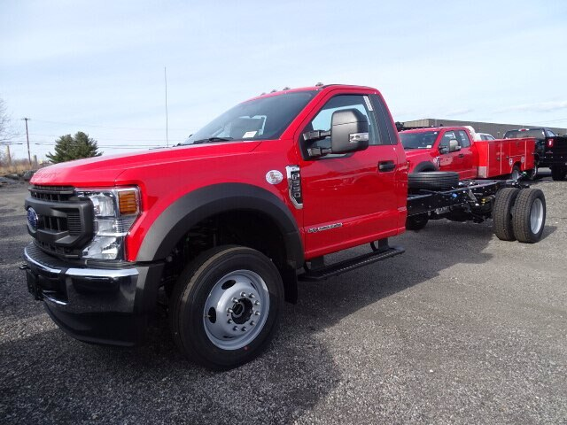 2020 Ford F-550 Regular Cab DRW 4x4, Cab Chassis #CR6939 - photo 1