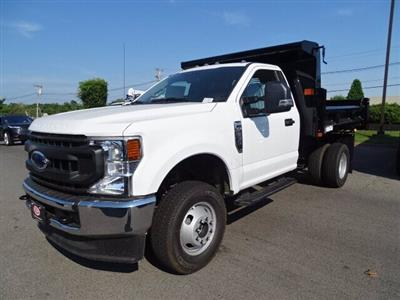 2020 Ford F-350 Regular Cab DRW 4x4, Rugby Eliminator LP Steel Dump Body #CR7022 - photo 3