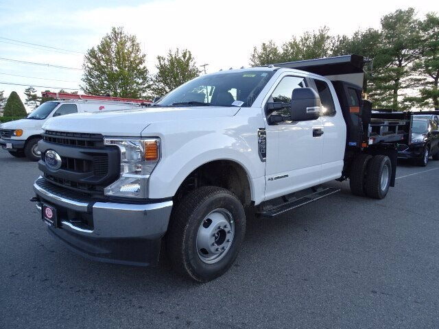 2020 Ford F-350 Super Cab DRW 4x4, Rugby Eliminator LP Steel Dump Body #CR7026 - photo 3