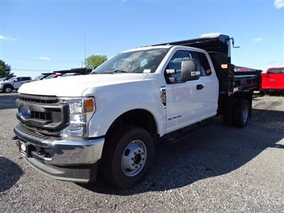 2020 Ford F-350 Super Cab DRW 4x4, Rugby Eliminator LP Steel Dump Body #CR7027 - photo 3