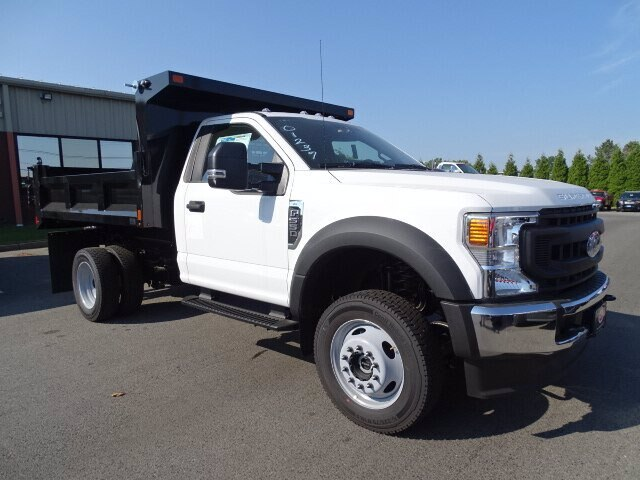 2020 Ford F-550 Regular Cab DRW 4x4, SH Truck Bodies Dump Body #CR7075 - photo 3