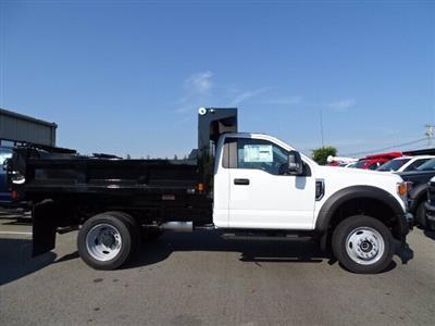 2020 Ford F-550 Regular Cab DRW 4x4, SH Truck Bodies Dump Body #CR7075 - photo 1