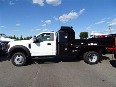 2020 Ford F-550 Regular Cab DRW 4x4, Reading Marauder Dump Body #CR7076 - photo 1