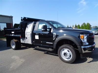 2020 Ford F-550 Regular Cab DRW 4x4, Crysteel Dump Body #CR7096 - photo 3