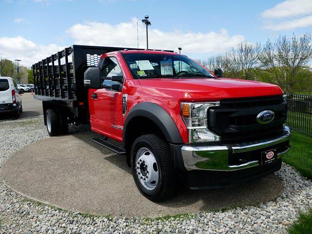 2020 Ford F-550 Regular Cab DRW 4x4, Knapheide Stake Bed #CR8272A - photo 1