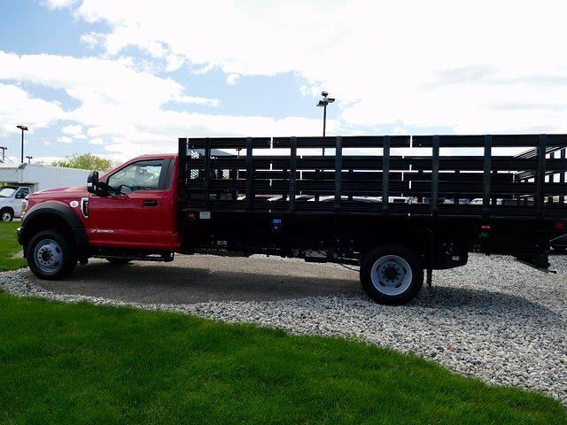2020 Ford F-550 Regular Cab DRW 4x4, Knapheide Value-Master X Stake Bed #CR8272A - photo 4