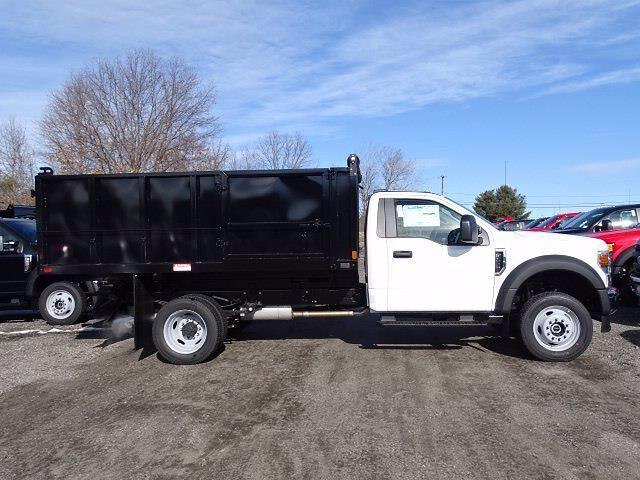 2021 Ford F-550 Regular Cab DRW 4x4, Landscape Dump #CR7972 - photo 3