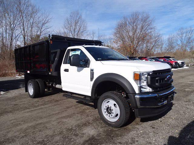 2021 Ford F-550 Regular Cab DRW 4x4, Landscape Dump #CR7972 - photo 1