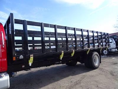 2021 Ford F-750 Regular Cab DRW 4x2, SH Truck Bodies Stake Bed #CR8041 - photo 4
