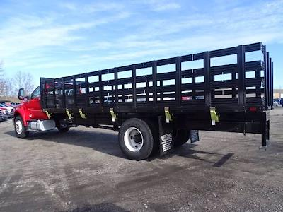2021 Ford F-750 Regular Cab DRW 4x2, SH Truck Bodies Stake Bed #CR8041 - photo 2