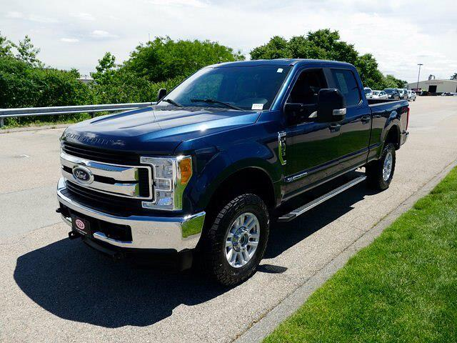 2017 Ford F-250 Crew Cab 4x4, Fisher Snowplow Pickup #CR8063A - photo 3