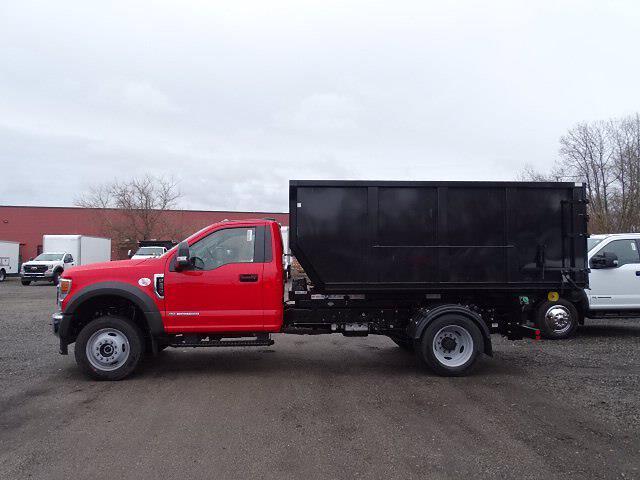 2021 Ford F-550 Regular Cab DRW 4x4, Switch N Go Hooklift Body #CR8163 - photo 1