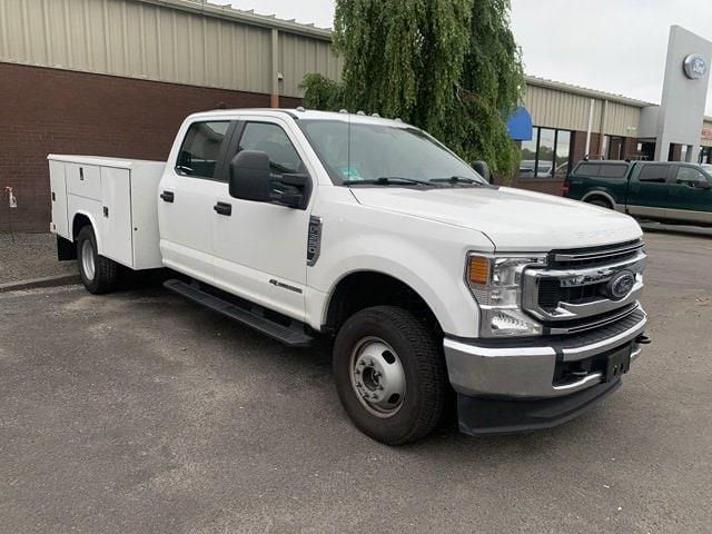 2021 Ford F-350 Crew Cab DRW 4x4, Reading Service Body #CR8284 - photo 1