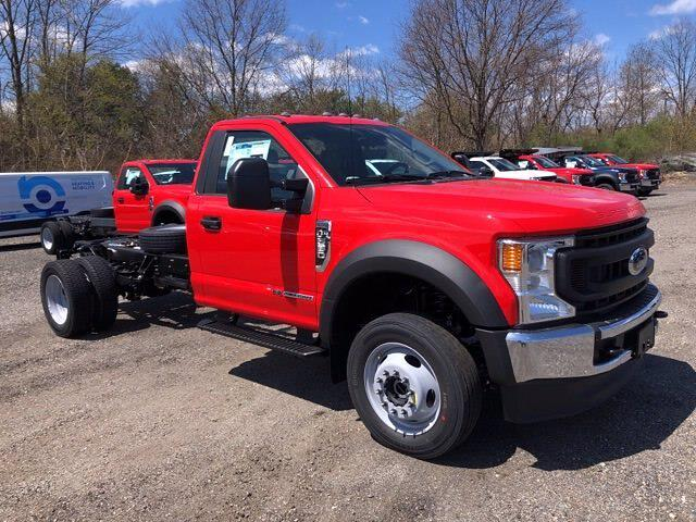 2021 Ford F-550 Regular Cab DRW 4x4, Cab Chassis #CR8303 - photo 1