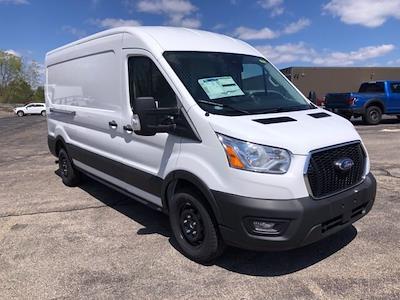 2021 Ford Transit 250 Medium Roof 4x2, Ranger Design Contractor Upfitted Cargo Van #CR8360 - photo 1