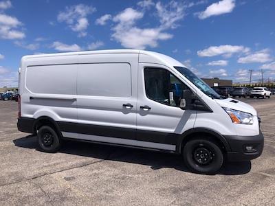 2021 Ford Transit 250 Medium Roof 4x2, Ranger Design Contractor Upfitted Cargo Van #CR8360 - photo 3