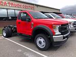 2021 Ford F-450 Regular Cab DRW 4x4, Cab Chassis #CR8446 - photo 1