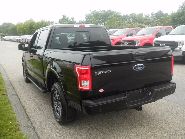 2017 Ford F-150 SuperCrew Cab 4x4, Pickup #IP5581 - photo 3