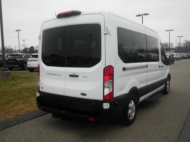 2019 Transit 350 Med Roof 4x2, Passenger Wagon #PH3614 - photo 2