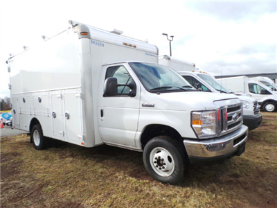 2017 Ford E-450 RWD, Service Utility Van #G6946A - photo 6