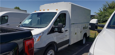 2018 Transit 350 HD DRW 4x2,  Reading Aluminum CSV Service Utility Van #G4858 - photo 3