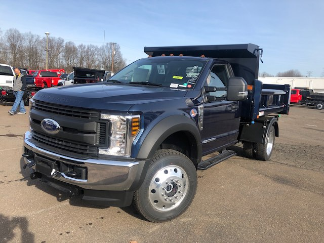 2019 F-550 Regular Cab DRW 4x4,  Rugby Eliminator LP Steel Dump Body #G5164 - photo 3