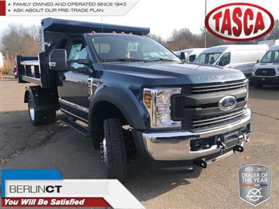 2019 F-550 Regular Cab DRW 4x4,  Rugby Eliminator LP Steel Dump Body #G5164 - photo 1