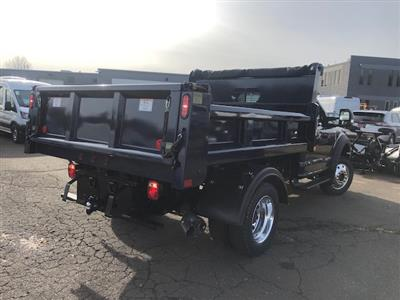 2019 F-550 Regular Cab DRW 4x4,  Rugby Eliminator LP Steel Dump Body #G5164 - photo 2