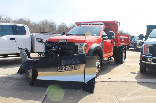 2019 F-450 Regular Cab DRW 4x4, Rugby Eliminator LP Steel Dump Body #G5218 - photo 1