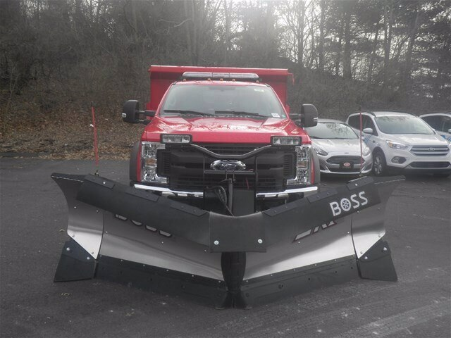2019 F-450 Regular Cab DRW 4x4, Rugby Eliminator LP Steel Dump Body #G5218 - photo 3