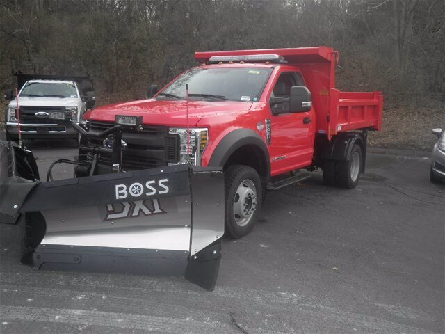 2019 F-450 Regular Cab DRW 4x4, Rugby Eliminator LP Steel Dump Body #G5218 - photo 5