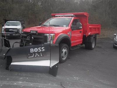 2019 F-450 Regular Cab DRW 4x4,  Rugby Eliminator LP Steel Dump Body #G5218 - photo 4