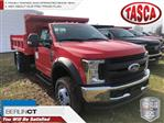2019 F-550 Regular Cab DRW 4x4,  Rugby Eliminator LP Steel Dump Body #G5247 - photo 1