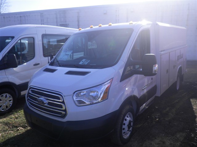 2019 Transit 350 HD DRW 4x2,  Reading Aluminum CSV Service Utility Van #G5279 - photo 4