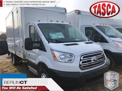2019 Transit 350 HD DRW 4x2,  Dejana Truck & Utility Equipment DuraCube Cutaway Van #G5295 - photo 1