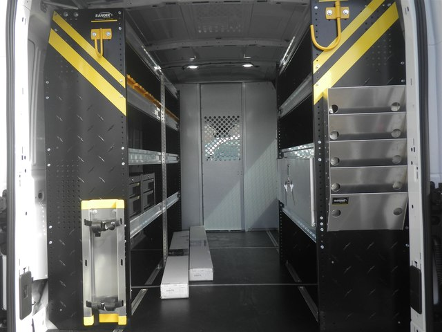 2019 Transit 250 Med Roof 4x2,  Ranger Design Upfitted Cargo Van #G5338 - photo 1